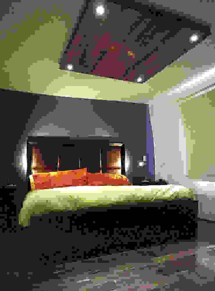 12. DEPARTAMENTO COYOACAN Dormitorios modernos de TARE arquitectos Moderno