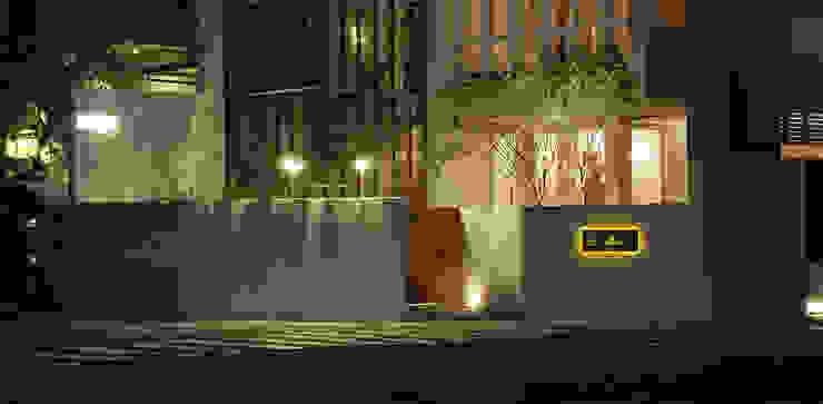 「Le Mout樂沐」法式餐廳夜景 根據 原形空間設計 現代風