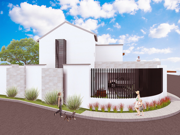 Casa C y L Casas modernas de Proyecta Taller de Arquitectura Moderno