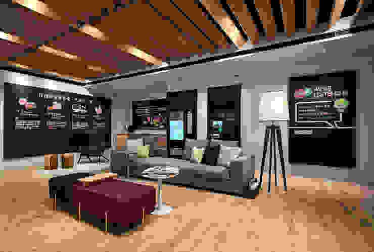 KOKO store數位銀行 根據 晨室空間設計有限公司 現代風