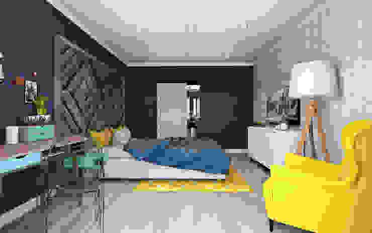 Scandinavian style bedroom by OBJECT Scandinavian