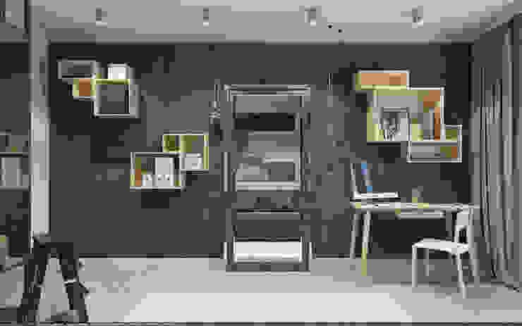 Scandinavian style dressing room by OBJECT Scandinavian