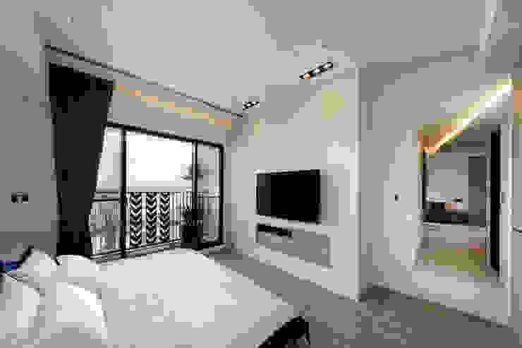 Modern style bedroom by 沐設計 Modern