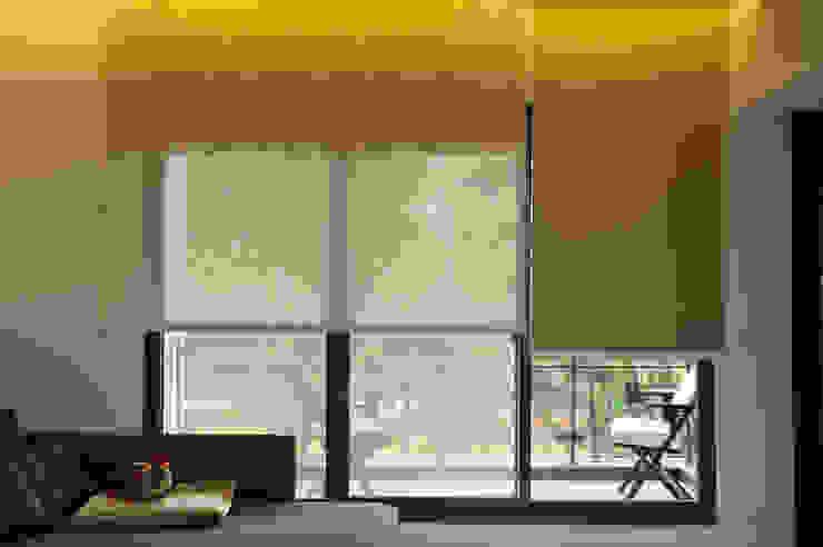 雙層電動捲簾 敦閣織品股份有限公司 Asian style living room