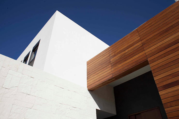 Modern houses by Toyka Arquitectura Modern Wood Wood effect
