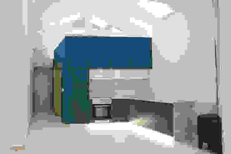 Casa do Justiçado GRAU.ZERO Arquitectura Cozinhas embutidas