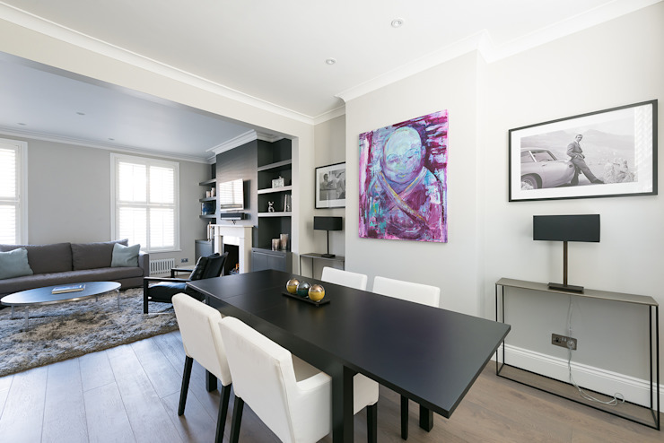 Disraeli Road, Putney Grand Design London Ltd Modern dining room