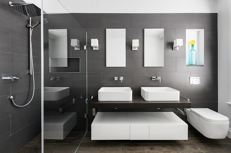 Disraeli Road, Putney Minimal style Bathroom by Grand Design London Ltd Minimalist