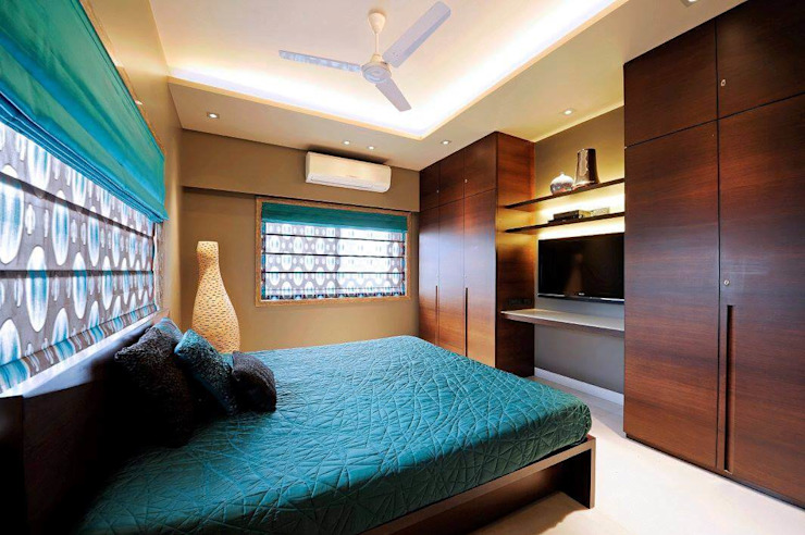 Dormitorios de estilo moderno de Midas Dezign Moderno