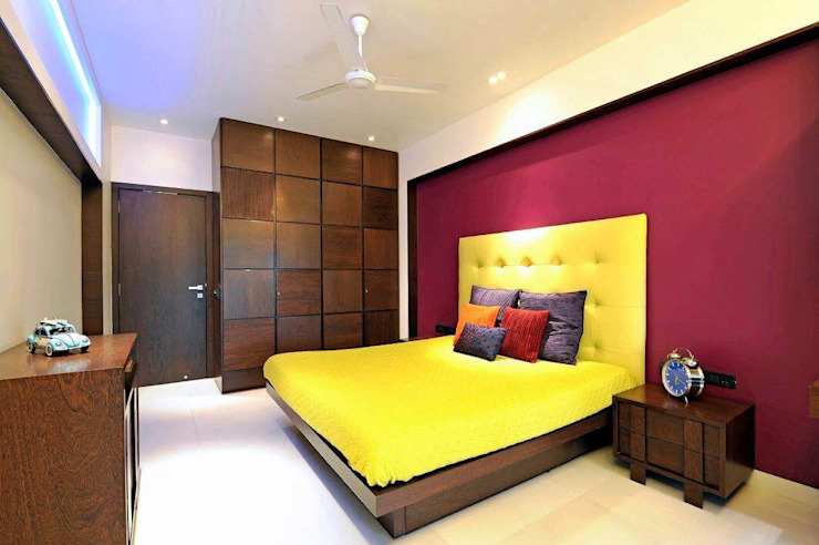 ATLAS APARTMENT Modern style bedroom by Midas Dezign Modern