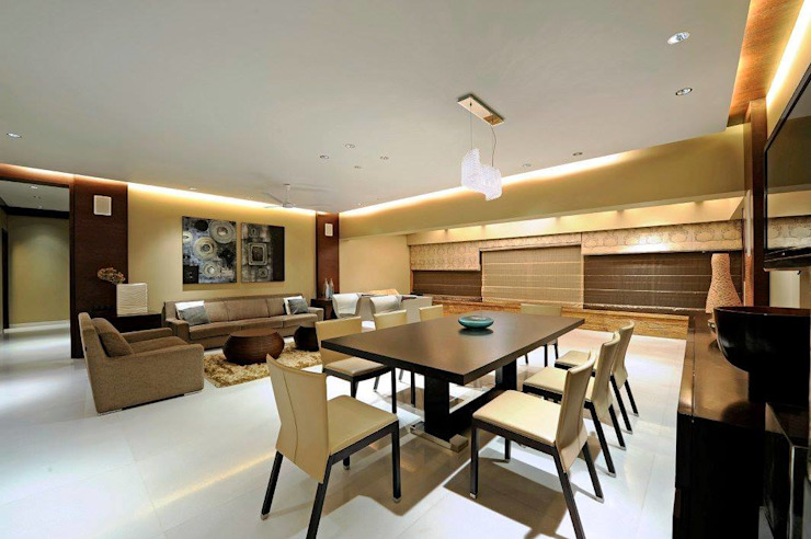 Dining room by Midas Dezign,