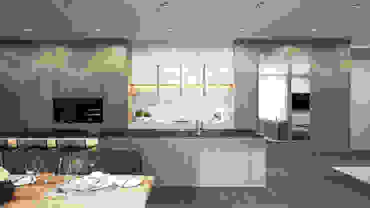 Modern style kitchen by Ejsmont - pracowania architektoniczna Modern