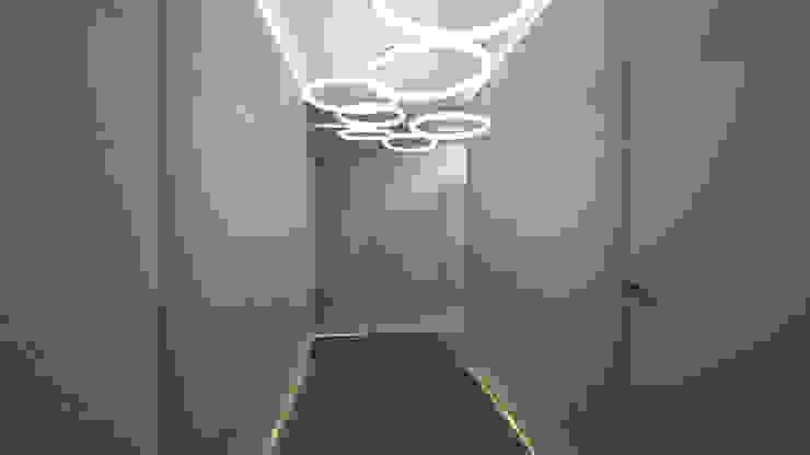 Modern corridor, hallway & stairs by Ejsmont - pracowania architektoniczna Modern