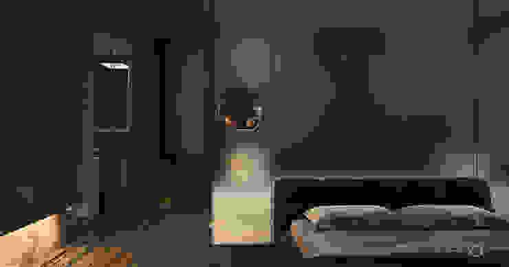 Modern style bedroom by Ejsmont - pracowania architektoniczna Modern