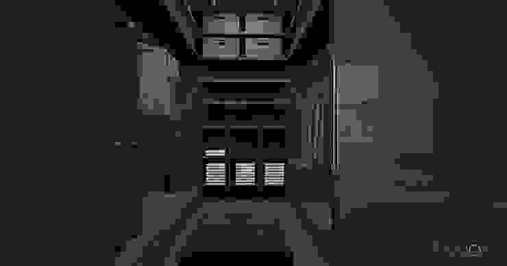 Modern style dressing rooms by Ejsmont - pracowania architektoniczna Modern