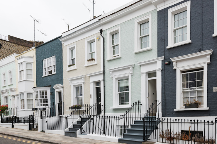 Hillgate Place, Notting Hill Classic style houses by Grand Design London Ltd Classic