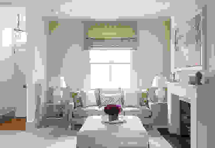 Hillgate Place, Notting Hill Salon moderne par Grand Design London Ltd Moderne