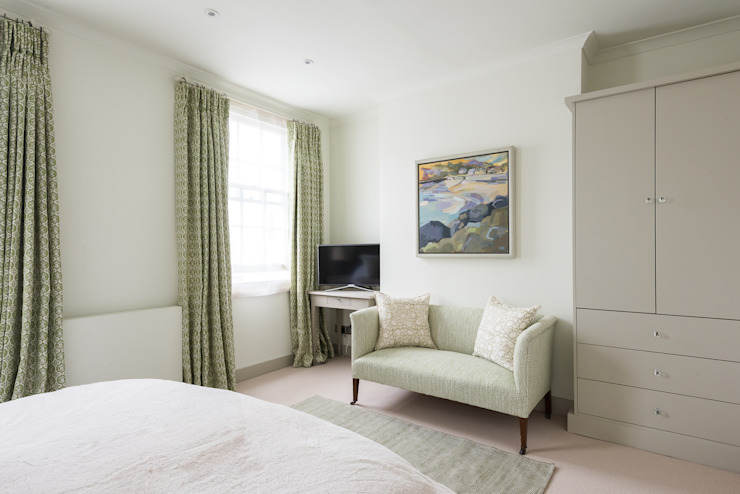 Hillgate Place, Notting Hill Chambre moderne par Grand Design London Ltd Moderne