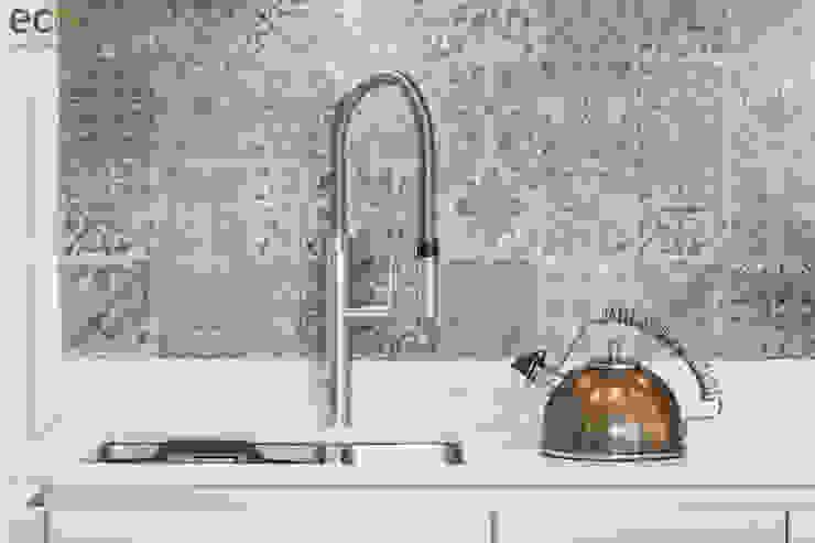 Handle Less design in Modern colours Cocinas de estilo moderno de Eco German Kitchens Moderno Tablero DM