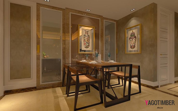 Dining Room Design Ideas: modern  by Yagotimber.com,Modern