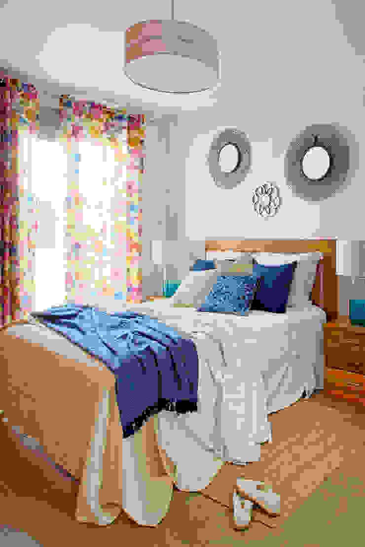 Casa de playa. Alicante Dormitorios de estilo mediterráneo de itta estudio Mediterráneo