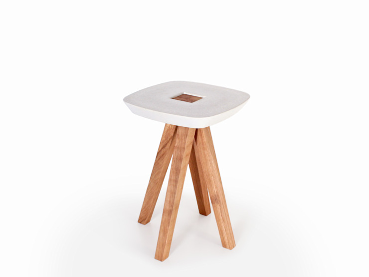 Wood turning Kimo lamp inoow design Living roomStools & chairs