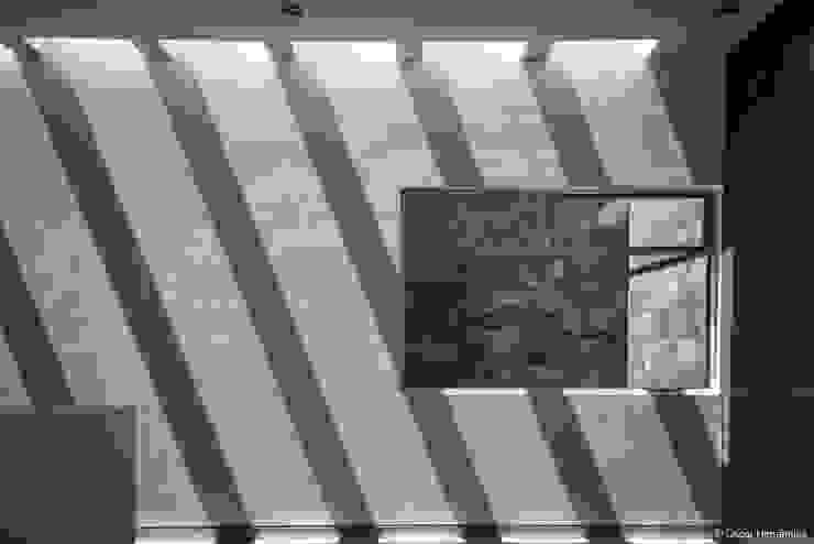 Casa Contadero Pasillos, vestíbulos y escaleras modernos de CANOCANELA arquitectura Moderno
