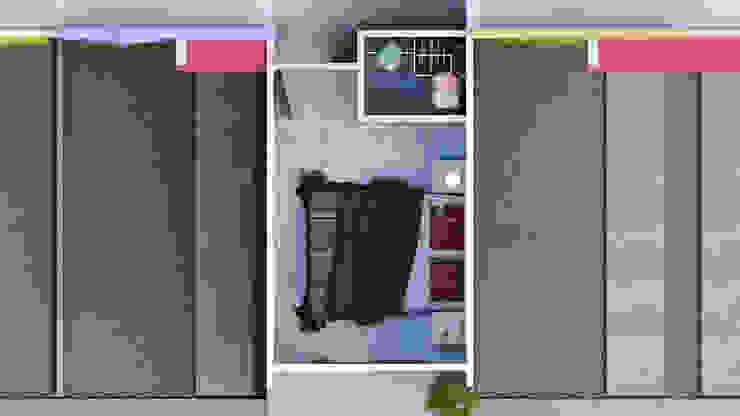 Vista Aérea Interior Lentz Arquitectura Diseño y Construcción Casas estilo moderno: ideas, arquitectura e imágenes Concreto reforzado