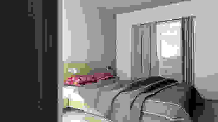 Modern Bedroom by Lentz Arquitectura Diseño y Construcción Modern Reinforced concrete