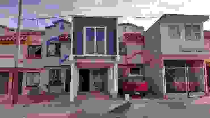 Fachada Principal Casas estilo moderno: ideas, arquitectura e imágenes de Lentz Arquitectura Diseño y Construcción Moderno Concreto reforzado