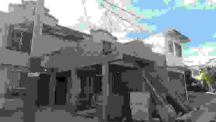 Casas estilo moderno: ideas, arquitectura e imágenes de Lentz Arquitectura Diseño y Construcción Moderno Concreto reforzado