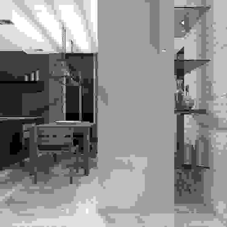 Hành lang, sảnh & cầu thang phong cách tối giản bởi CHM architect Tối giản