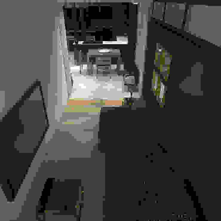 Phòng giải trí phong cách tối giản bởi CHM architect Tối giản