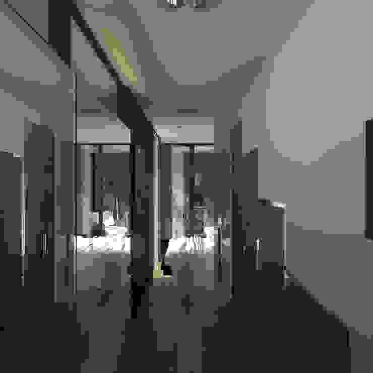 Phòng thay đồ phong cách tối giản bởi CHM architect Tối giản