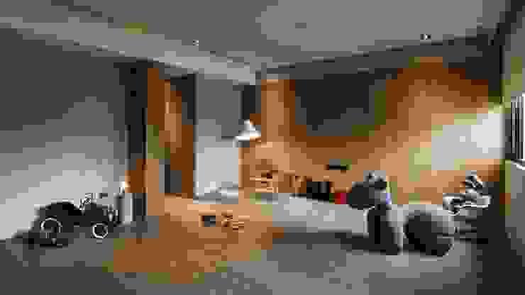 家的溫度 豁然 根據 晨室空間設計有限公司 現代風