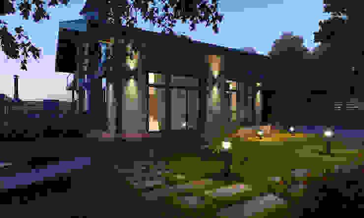 Частный дом в Зеленограде: Дома в . Автор – Компания архитекторов Латышевых 'Мечты сбываются',