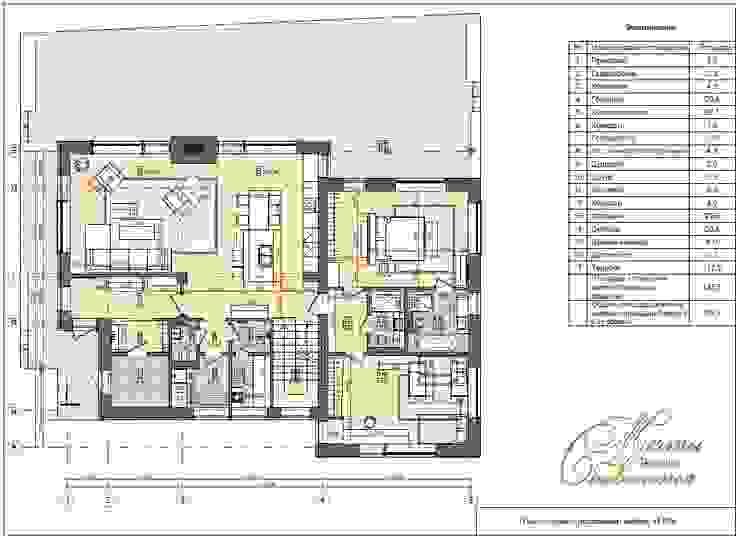 Компания архитекторов Латышевых 'Мечты сбываются' Casas de estilo minimalista