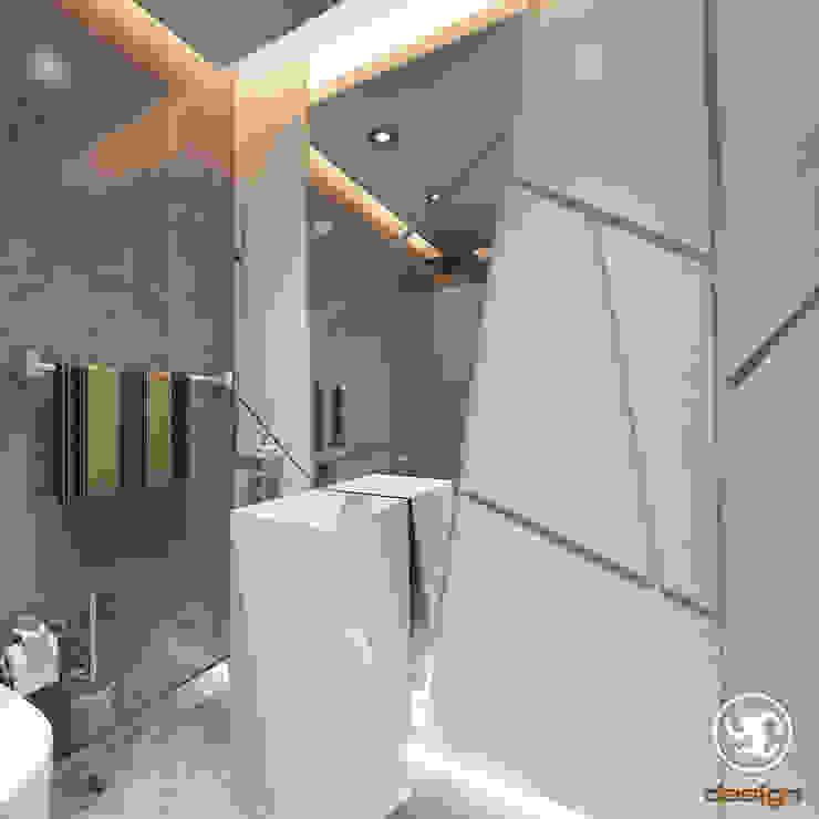 2+1 Banyo Modern Banyo Erden Ekin Design Modern