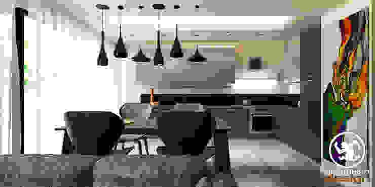 2+1 Dublex Mutfak Erden Ekin Design Modern Mutfak