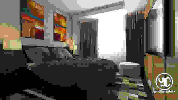 Modern style bedroom by Erden Ekin Design Modern