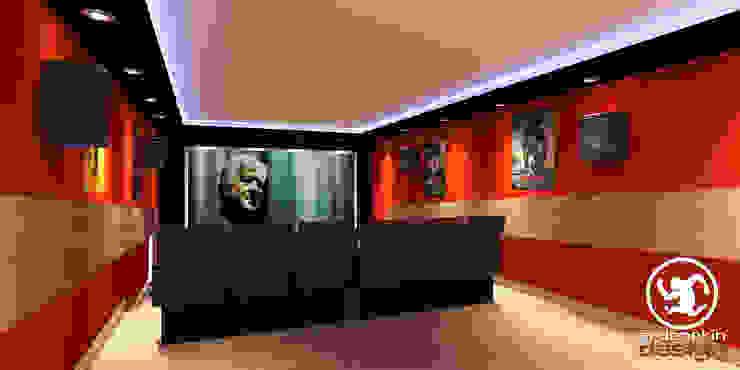 Sinema Salonu Modern Multimedya Odası Erden Ekin Design Modern