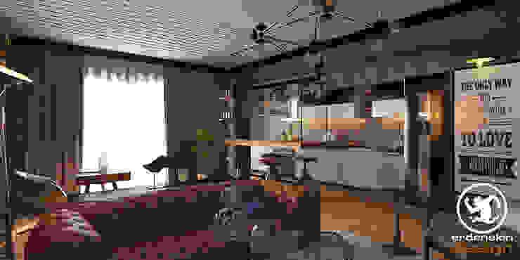 Açık Mutfak Bölümü Endüstriyel Mutfak Erden Ekin Design Endüstriyel