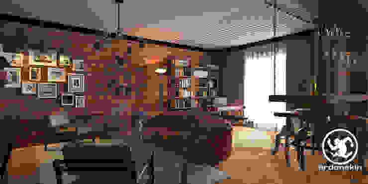 Salas / recibidores de estilo  por Erden Ekin Design, Industrial