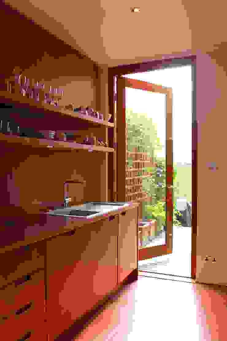 Patio Door Modern Kitchen by A2studio Modern
