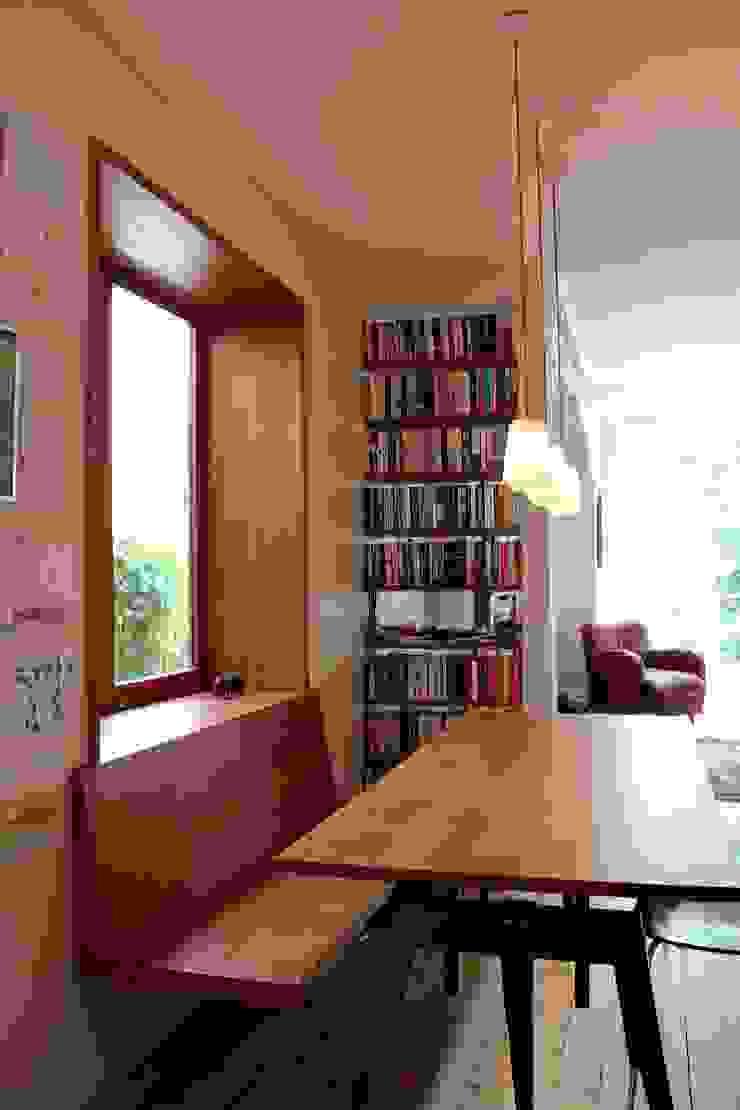 Oriel window Modern Dining Room by A2studio Modern