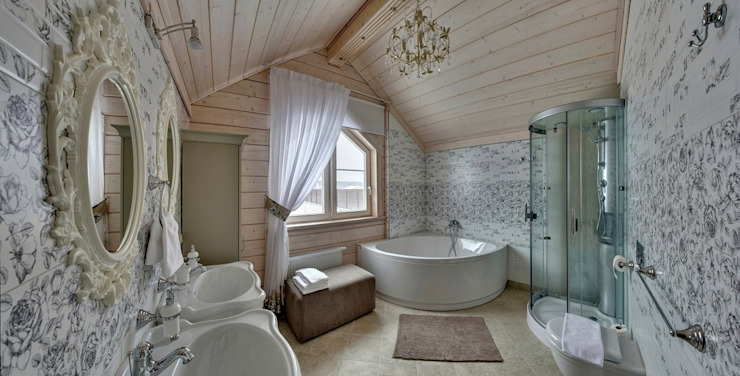 Scandinavian style bathroom by GOOD WOOD Scandinavian