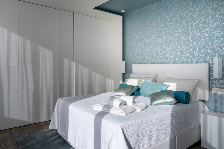 Zenaida Lima Fotografia Camera da letto moderna