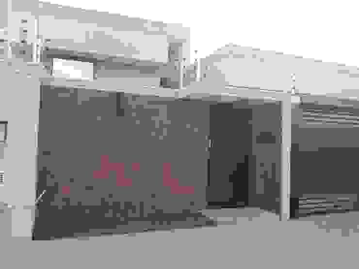 Fachada Residencial Casas modernas por Thaisa Afonso - Arquitetura e Urbanismo Moderno contraplacado