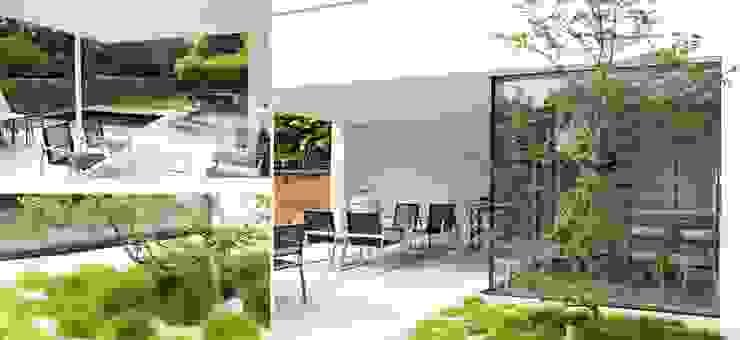 Project SV Moderne balkons, veranda's en terrassen van ARD Architecten Modern