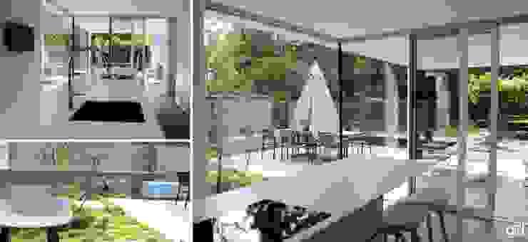 Project SV Moderne tuinen van ARD Architecten Modern